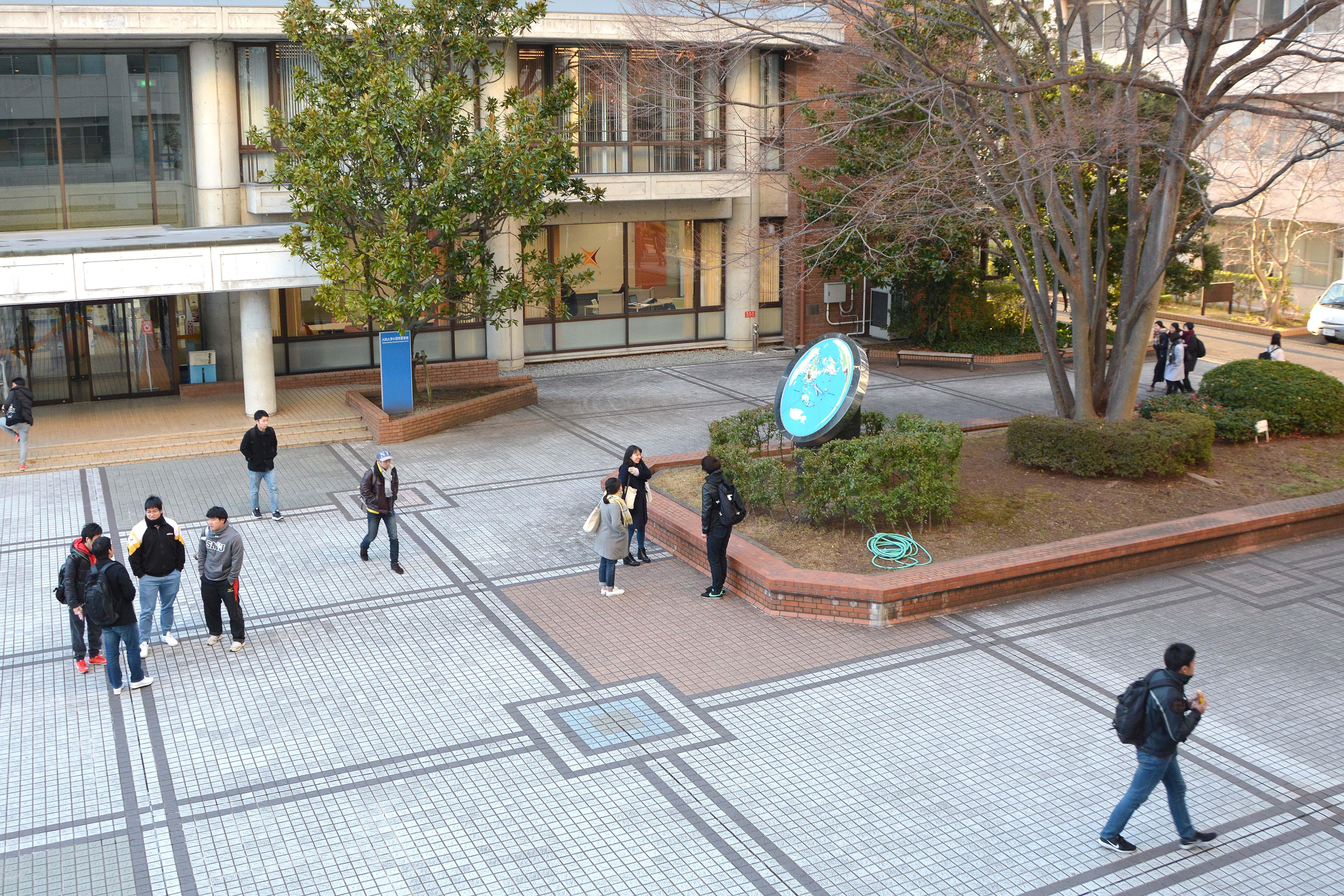 箕面キャンパスの風景