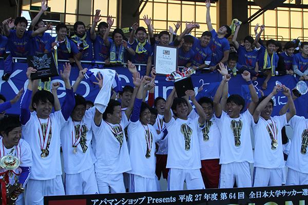 【1月号掲載】サッカー全国優勝