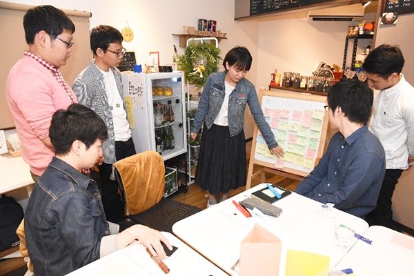 【9・10月号掲載】街中に学生を 学生がイベント企画