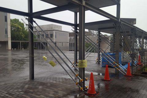 【7月号掲載】大阪北部で震度6弱 大学キャンパスに被害多数