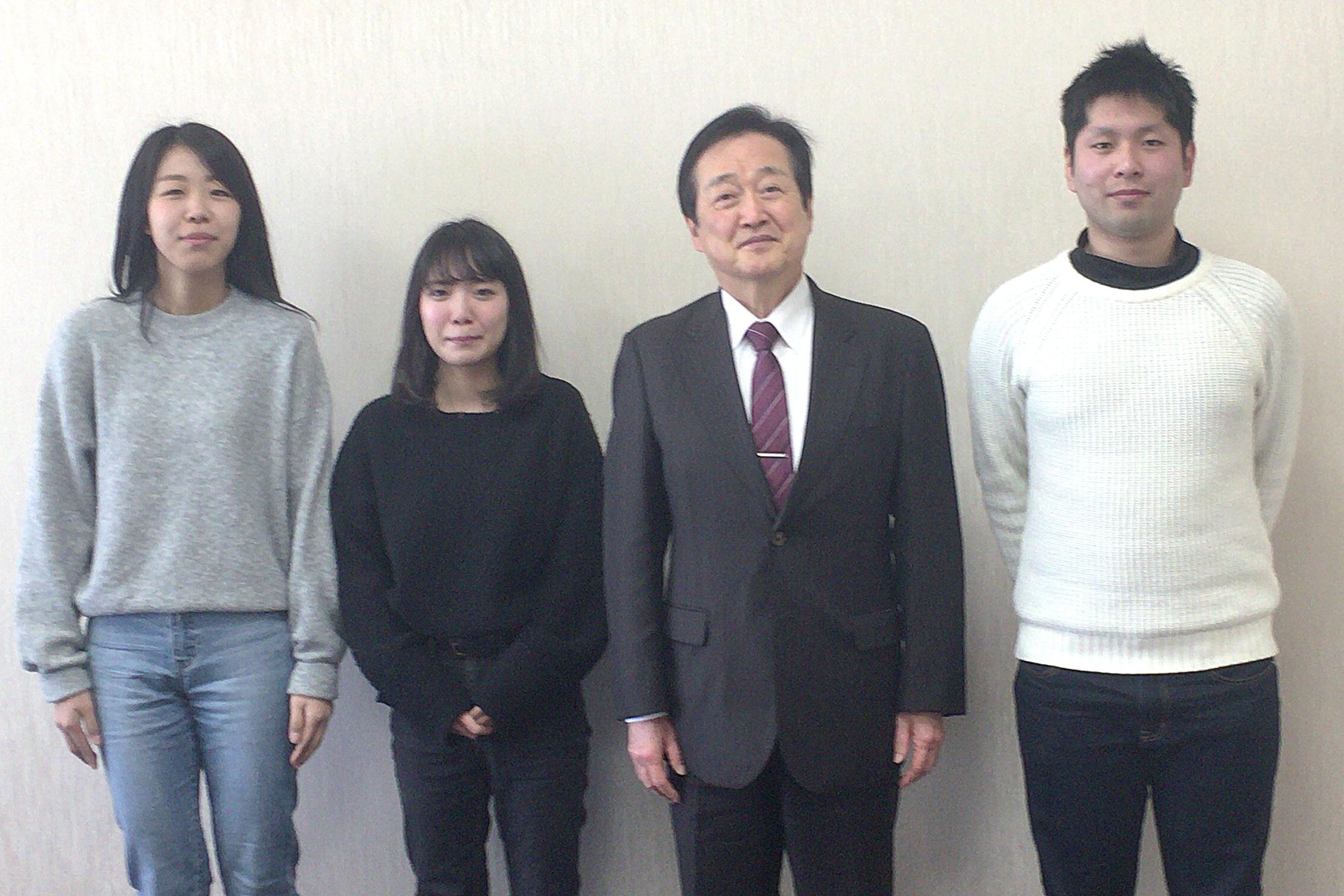 和泉フロントランナーを手掛けた教授と学生ら