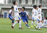 【サッカー】関学大  京産大に競り勝つ